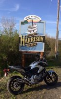 NC700x with Harrison township sign 86mpg.jpg
