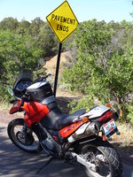 Pavement Ends - a GS Owner's Favorite Sign.JPG