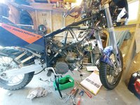 KTM 950 - Ready for engine removal.jpg