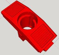 Moto Guzzi V1000 G5 fuel tank flap lock core mount SketchUp image.jpg