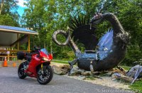 Ducati 1299S Panigale - Tail of the Dragon trip - Dragon Sculpture - Killboy - 13 July 2017.jpg