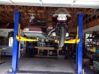 Sidecar rig on car lift 002.jpg