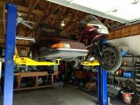 Sidecar rig on car lift 003.jpg