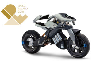 Yamaha's MOTOROiD Wins Grand Gold Prize at IDEA Competition