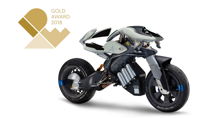 """Yamaha's MOTOROiD has won its first ever """"Gold"""" honor at the International Design Excellence […]"""