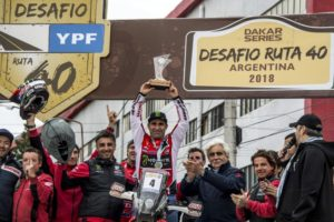 Honda Monster Energy's Paulo Goncalves has won the overall victory in the Desafia Ruta […]