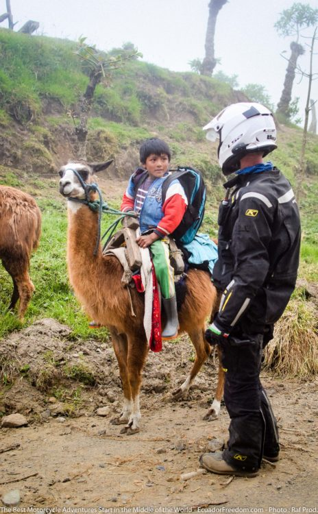 What It's Like to Be a Motorcycle Tour Guide in Ecuador www.advrider.com