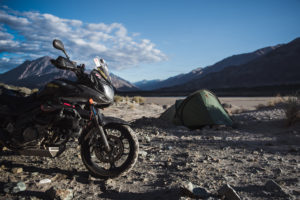 What budget do you require for a long-moto trip?