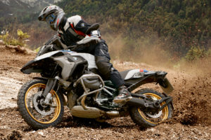 R 1250 GS getting more low-end grunt for off-road riding -- photo courtesy of BMW Motorrad
