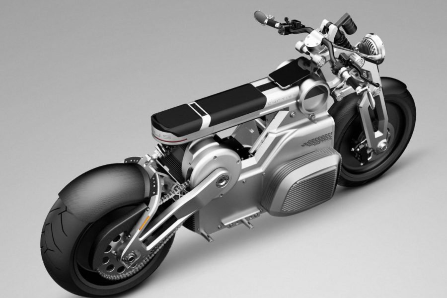 Curtiss Motorcycles Zeus concept -- image courtesy of Curtiss Motorcycles