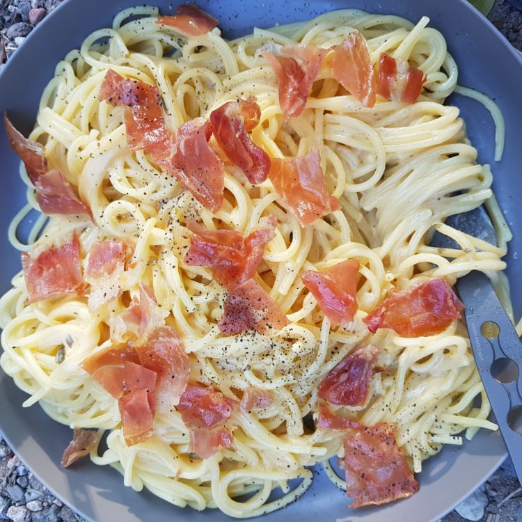 Adventure Recipe: Two Ingredient Alfredo