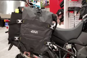 The new GIV GRT709 Canyon soft luggage