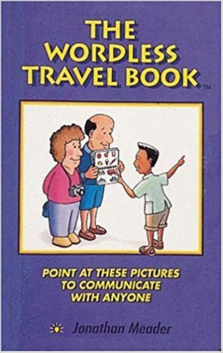 wordless travel book