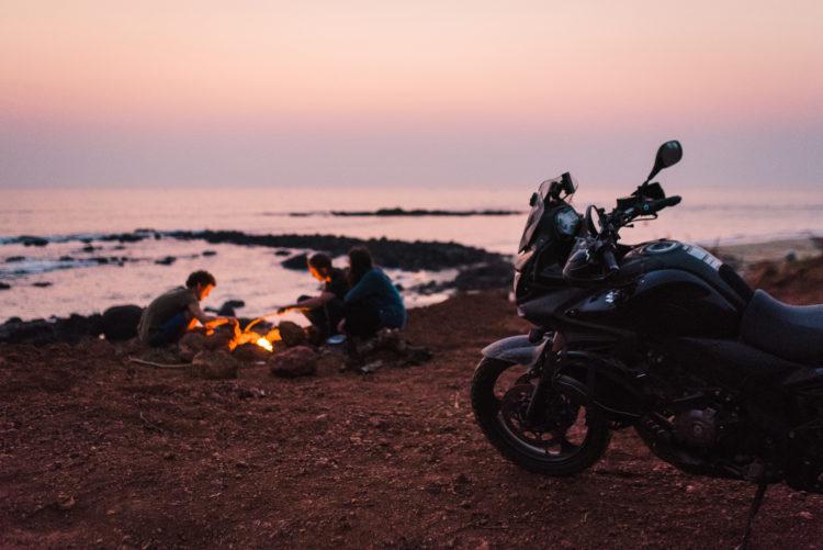budget review moto camping