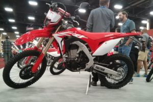 Honda CRF450L at AIMExpo in Las Vegas 2018