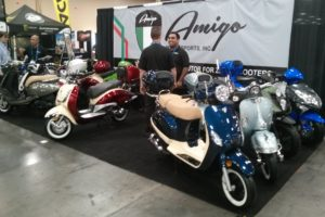 Amigo display at AIMEXpo in Las Vegas