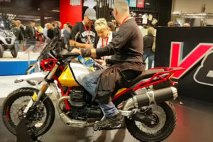 2019 Moto Guzzi V85 TT -- image courtesy of Moto.it