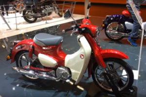 2019 Honda Super Cub at INTERMOT -- image courtesy of Motoron Dergisi