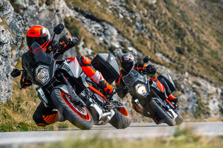 2019 KTM 1290 Super Duke GT -- photo courtesy of KTM