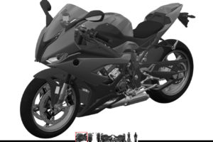 BMW S1000RR CAD drawing