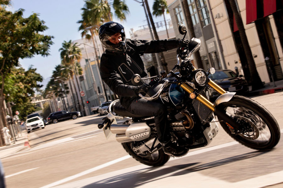 Triumph Officially Unwrap The Two New Bonneville Scramblers 1200