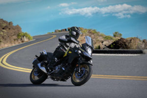 Suzuki V-Strom 650 -- photo courtesy of Suzuki