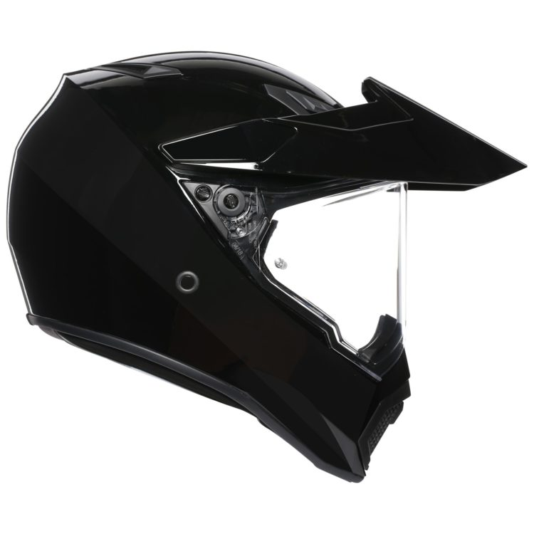 The North America Exclusive Agv Ax9 Adventure Helmet Is