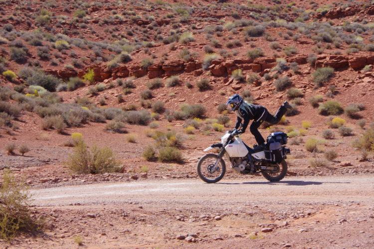Adventure motorcycle poser skills
