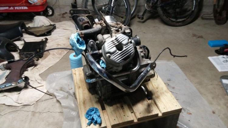 cx500 motor