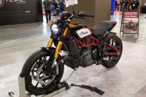 Indian Motorcycle FTR 1200 at AIMExpo, LAs Vegas 2018