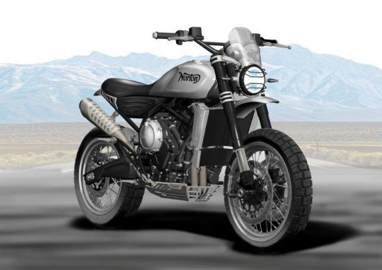 New Norton Atlas to Appear at NEC (Motorcycle Live)
