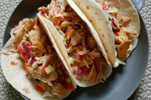 Food / Mexican Chicken Wraps