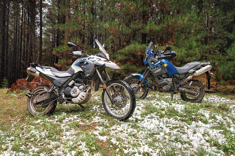 "I recently had the opportunity to test ride a couple of ""middleweight adventure"" bikes […]"