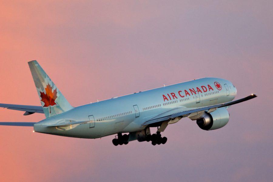 Departing Toronto Pearson