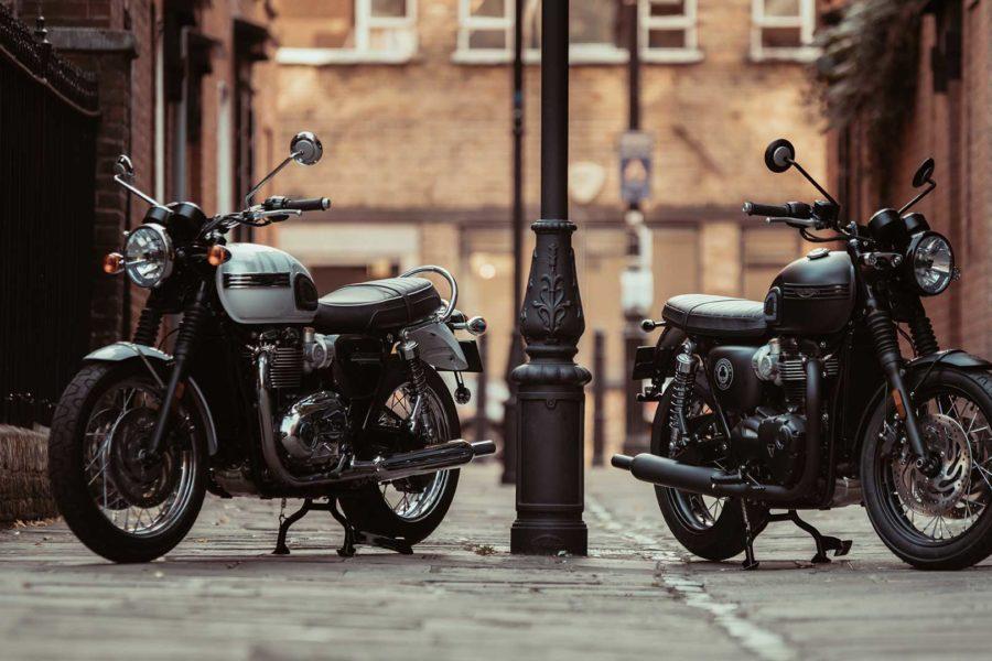 2019 Bonneville T120 Diamond and T120 Ace -- photo courtesy of Triumph Motorcycles