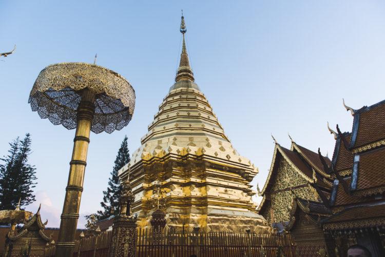 Wat Phra That, Chiang Mai, Thailand