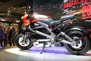 Harley-Davidson LiveWire at EICMA 2018 -- image courtesy of Rivista Motociclismo