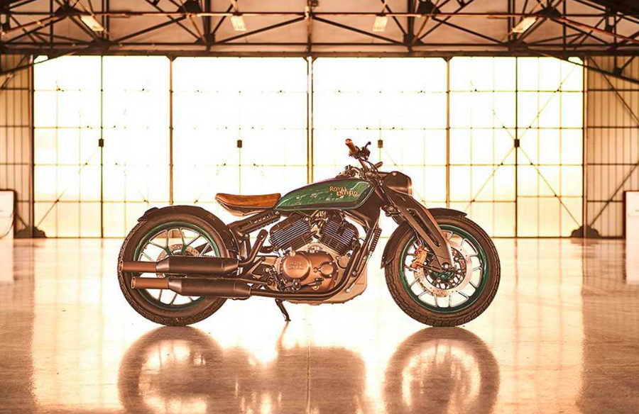 Royal Enfield Concept  KX -- photo courtesy of Royal Enfield