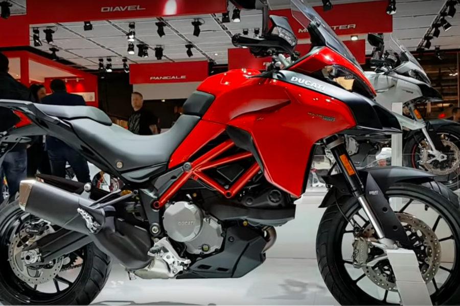 2019 Ducati Multistrada 950 -- image courtesy of Moto.it