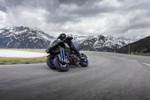 2019 Yamaha Niken -- photo courtesy of Yamaha