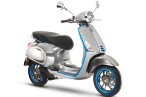 Late-2018 Vespa Electricca -- photo courtesy of Vespa