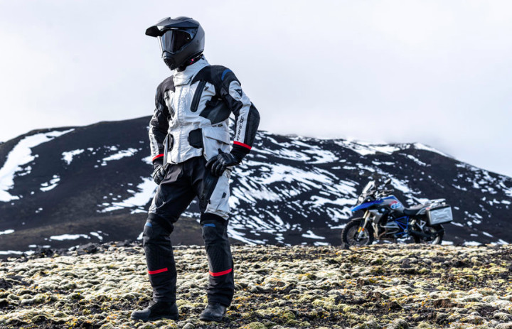 Dainese Explorer Antarctica  -- photo courtesy of Dainese