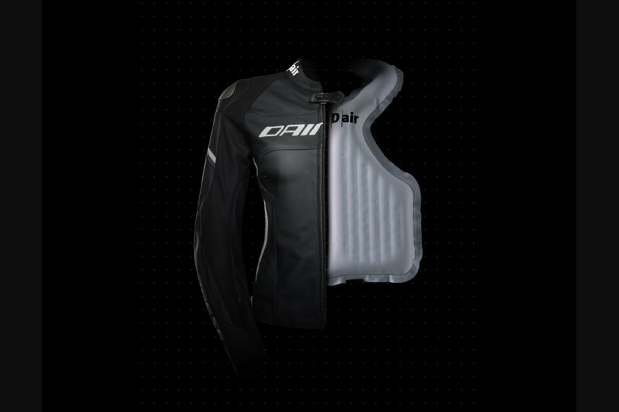 Dainese D-air jacket -- photo courtesy of Dainese