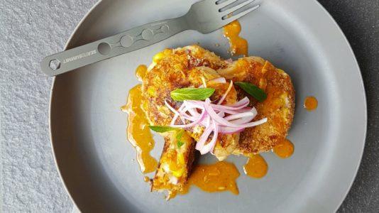 Red Curry Tuna Potato Cakes