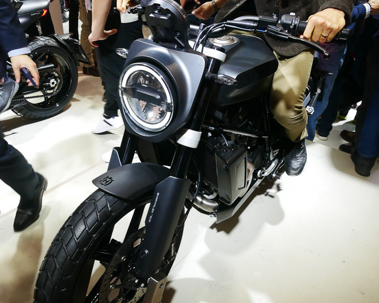 The world's first look at the the Husqvarna SVARTPILEN 701 at EICMA