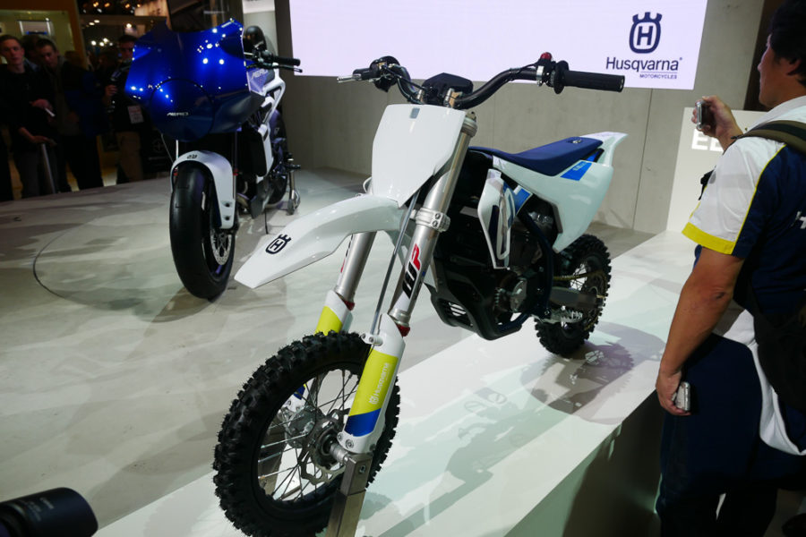 Husqvarna EE5 at EICMA