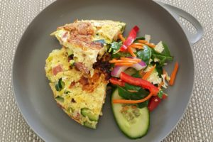 Recipe: Ham and Zucchini Frittata