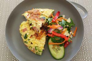 Recipe: Ham and Zucchini Frittata
