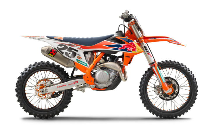 KTM Rolls Out Its 2019 450 SX-F Factory Edition