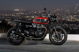 2019 Triumph Speed twin -- photo courtesy of Triumph